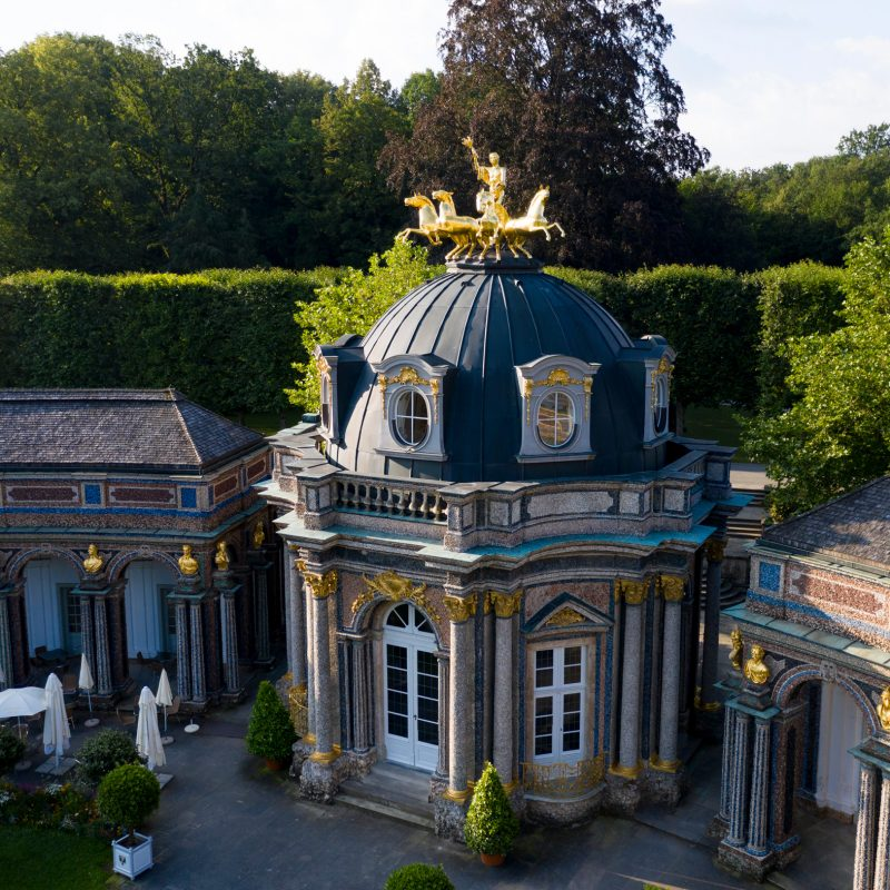 Bayreuth, Eremitage Sonnentempel