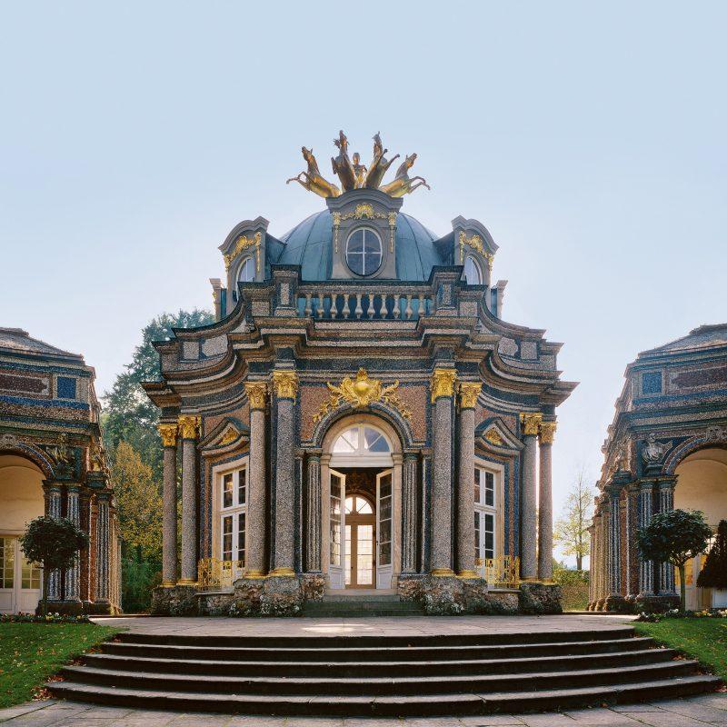 Bayreuth, Eremitage, Neues Schloss, Sonnentempel