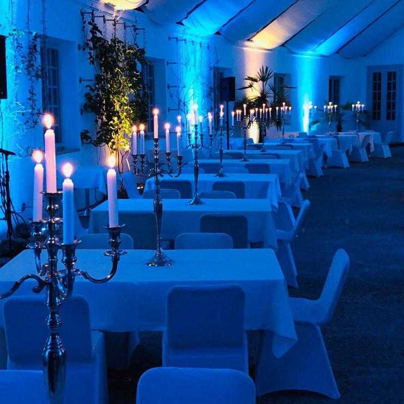 Bayreuth, Eremitage Sonnentempel - dinner
